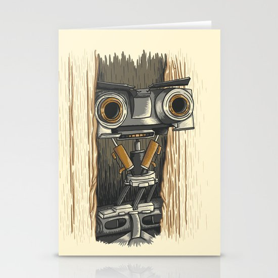 Here's Johnny 5! Stationery Card