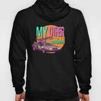 My Other Car Is A Delorean  |  Time Machine Hoody