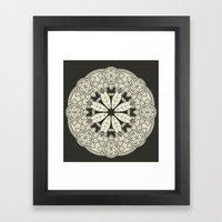 Mandala 3 Framed Art Print