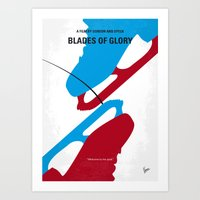 No562 My Blades Of Glory… Art Print