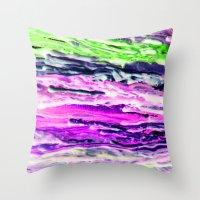 Wax #4 Throw Pillow