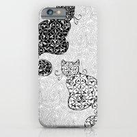 Black Cat White Cat iPhone 6 Slim Case