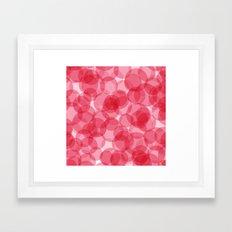Celebrate with pink! Framed Art Print