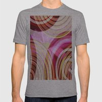 Pink Lady Mens Fitted Tee Athletic Grey SMALL