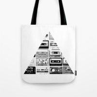 ▲ Triangle Cassettes �… Tote Bag