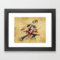 Ninja Assassin Framed Art Print