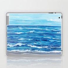 Choppy Ocean Painting Laptop & iPad Skin