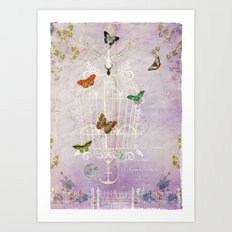 The Cage II - Freedom Art Print