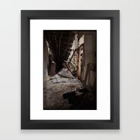 Plymouth County Hospital Building 2 Framed Art Print