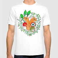 Eye keepers Mens Fitted Tee White SMALL