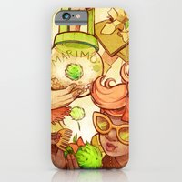 iPhone & iPod Case featuring Marimos by CKellyIllustration