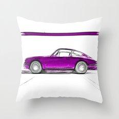 Porsche 911 / III Throw Pillow