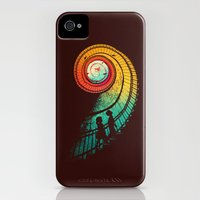 iPhone 4s & iPhone 4 Cases featuring Journey of a thousand miles by Budi Kwan