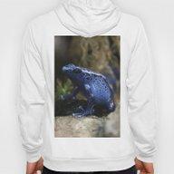 Blue Poison Arrow Frog Hoody