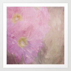 Hollyhock 1 Art Print