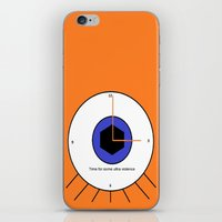 Time For A Little Ultrav… iPhone & iPod Skin