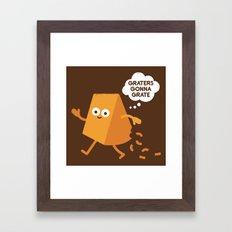 Don't Shred on Me Framed Art Print