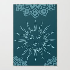 Sinshine pattern Canvas Print