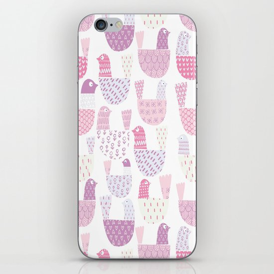 Bird Print iPhone & iPod Skin