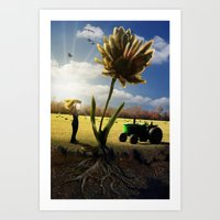 Miracle Grow Art Print
