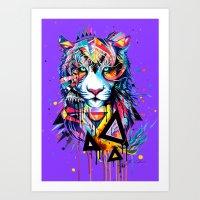-Tiger - Art Print