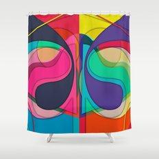 Ensoniq Funk Shower Curtain