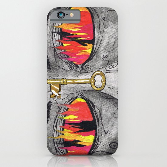 """""""The People's Key"""" by Cap Blackard iPhone & iPod Case"""