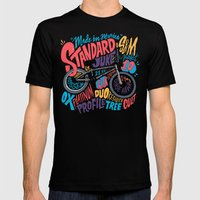 Standard Juke V.2 Mens Fitted Tee Black SMALL
