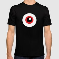 EYE SEE Mens Fitted Tee Black SMALL