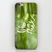 Life on Fleek - Spider Web in Woods iPhone & iPod Skin
