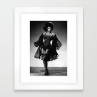 Iconic Images: Miss Topsy Framed Art Print