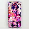 flowers and dandelions iPhone & iPod Skin