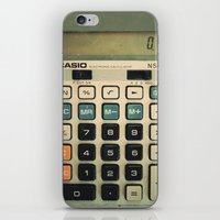 Calculator iPhone & iPod Skin
