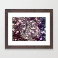 Rebel Youth Framed Art Print