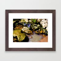 Just Rocks  Framed Art Print