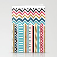 tribal Stationery Cards featuring Tribal by Kakel