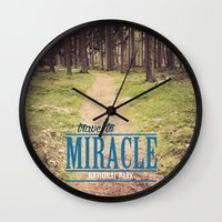 Travel To Miracle Nation… Wall Clock