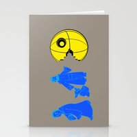 Thats No Moon Its A... O… Stationery Cards