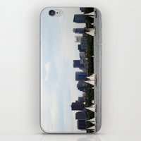 Boston skyline iPhone & iPod Skin