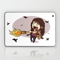 Bird Flaming Laptop & iPad Skin