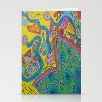 Abstract6 Stationery Cards