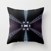 Magic Star Throw Pillow