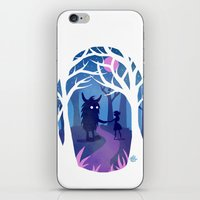 Making Friends with Monsters iPhone & iPod Skin