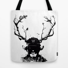 BOY FROM THE WOOD Tote Bag