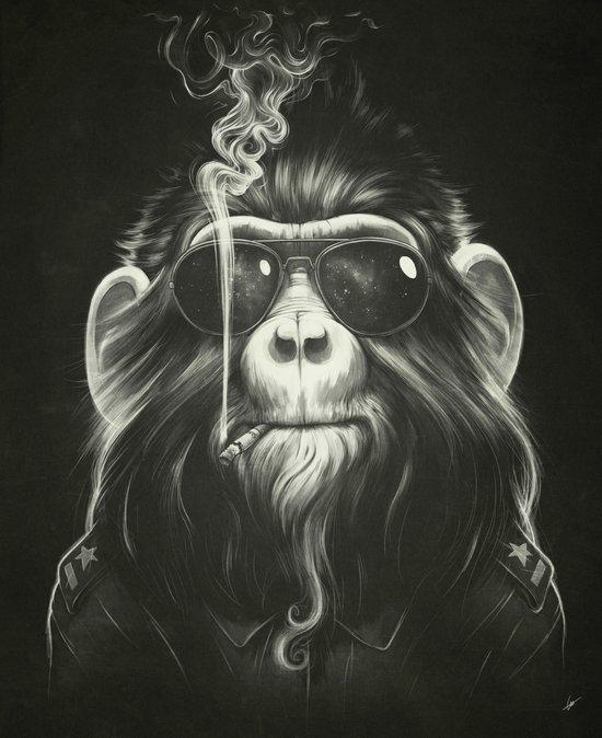 Smoke 'Em If You Got 'Em Art Print