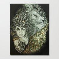 Panthera I Canvas Print