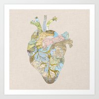 A Traveler's Heart (N.T) Art Print