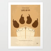 No173 My Life Of PI Mini… Art Print