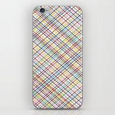 Rainbow Weave 45 iPhone & iPod Skin