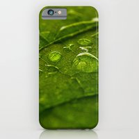 Green Bubbles 2 iPhone 6 Slim Case